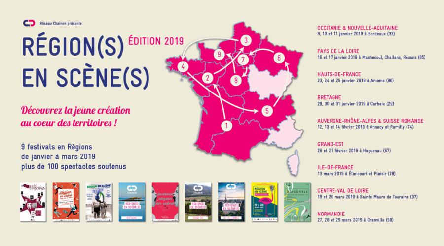 Les Région(s) en Scène(s) 2019 à partir du 9 janvier - Le Chainon ... ed4fde9c14b1